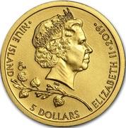 5 Dollars - Elizabeth II (Czech Lion) – obverse