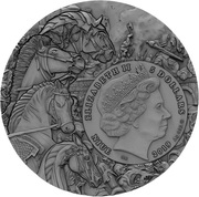 5 Dollars - Elizabeth II (Red Horse) -  obverse