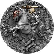 5 Dollars - Elizabeth II (Red Horse) -  reverse