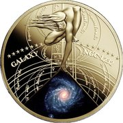 50 Cents - Elizabeth II (Galaxy NGC 1232) – reverse