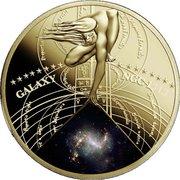 50 Cents - Elizabeth II (Galaxy NGC 1313) – reverse