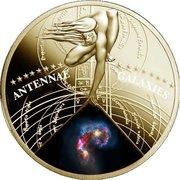 50 Cents - Elizabeth II (Antennae Galaxies) – reverse