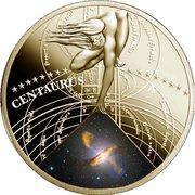 50 Cents - Elizabeth II (Centaurus A) – reverse