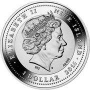 1 Dollar - Elizabeth II (Hedgehog) -  obverse