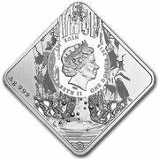 1 Dollar - Elizabeth II (Salto Angel) -  obverse