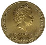 10 Dollars - Elizabeth II (Czech Lion) – obverse