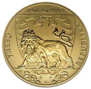 10 Dollars - Elizabeth II (Czech Lion) – reverse