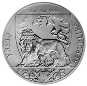 5 Dollars - Elizabeth II (Czech Lion) – reverse