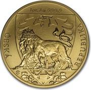 50 Dollars - Elizabeth II (Czech Lion) – reverse