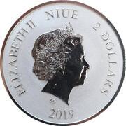 2 Dollars - Elizabeth II (White Tiger) -  obverse