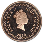 10 Cents - Elizabeth II (3rd portrait) – obverse