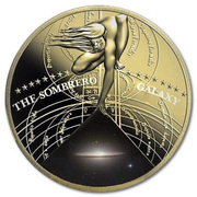 50 Cents - Elizabeth II (The Sombrero Galaxy) – reverse