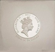 1 Dollar - Elizabeth II (Study of light & shadow) -  obverse