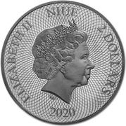 2 Dollars - Elizabeth II (Camel) – obverse