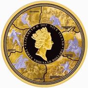 3000 Dollars - Elizabeth II (Peter the Great) -  obverse