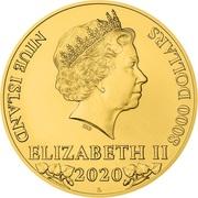 8000 Dollars - Elizabeth II (Czech Lion) -  obverse