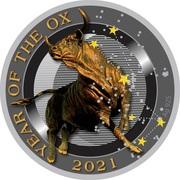 50 Cents - Elizabeth II (Year of the Ox) – reverse