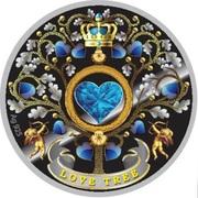 50 Cents - Elizabeth II (Love Tree) – reverse