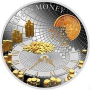 50 Cents - Elizabeth II (Time is Money) – reverse
