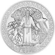 10 Dollars - Elizabeth II (Perun) -  obverse