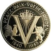 50 Cents - Elizabeth II (75 Years Peace and Liberty) – reverse