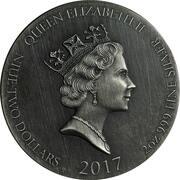 2 Dollars - Elizabeth II (The Wise Men) – obverse
