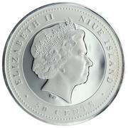 50 Cents - Elizabeth II (Discus throw) – obverse