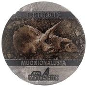 5 Cents - Elizabeth II (Triceratops) – reverse