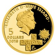 5 Dollars - Elizabeth II (Michael Sendivogius) -  obverse