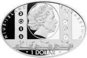 1 Dollar - Elizabeth II (Ford) -  obverse