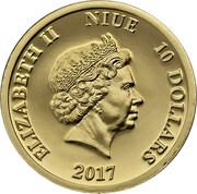 10 Dollars  - Elizabeth II (Lady's-slipper) -  obverse