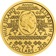 5 Dollars  - Elizabeth II (Golden Eagle) -  obverse