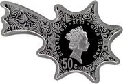 50 Cents - Elizabeth II (Christmas Star) – obverse