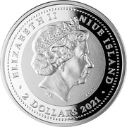 2 Dollars - Elizabeth II (Wedding) -  obverse
