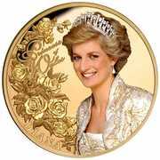 100 Dollars - Elizabeth II (Diana Princess of Wales) -  reverse