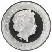 50 Cents - Elizabeth II (Equestrian) – obverse