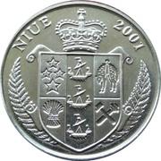 1 Dollar  - Elizabeth II (Meowth) – obverse