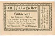 10 Heller (Nöchling) -  obverse