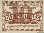 10 centimes - Chambres de Commerce du Nord et du Pas-de-Calais – reverse