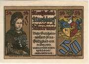 50 Pfennig (Verkehrsverein) – obverse