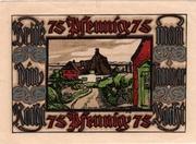 75 Pfennig (Verkehrsverein) – reverse