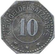 10 Pfennig - Nordhausen am Harz – reverse