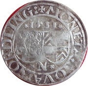 1 Batzen - Eberhard IV. – obverse