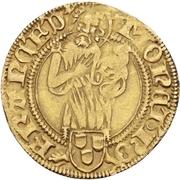 1 Goldgulden - Friedrich III. von Habsburg – obverse