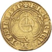 1 Goldgulden - Friedrich III. von Habsburg – reverse