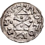 1 Denier - Richard I Sans Peur – reverse