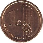 1 Cent (Normandy) – reverse