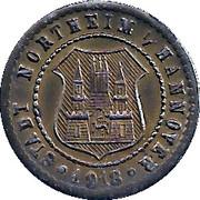 10 Pfennig - Northeim – obverse