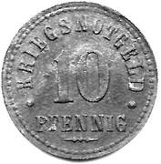10 Pfennig - Northeim – reverse