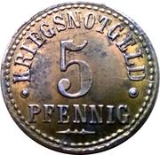 5 Pfennig - Northeim – reverse